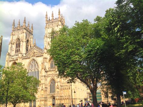Visit the impressive York Minster
