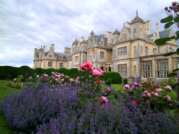 Beautiful gardens at Stoke Rochford Hall