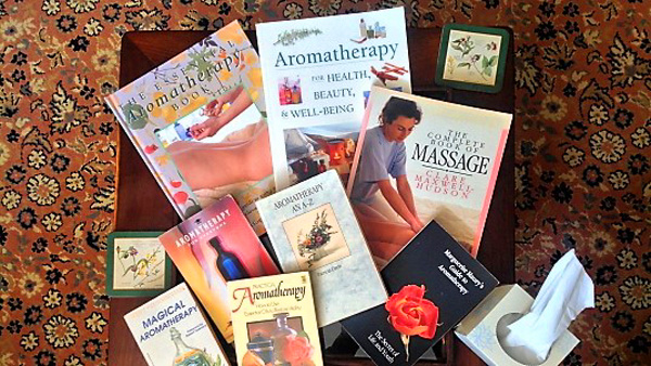Aromatherapy reference books to read