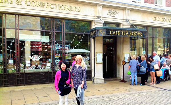 The world famous Bettys Tea Rooms