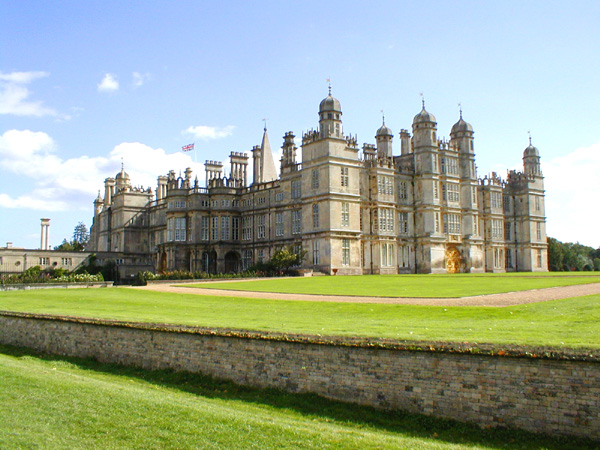 The splendid Burghley House