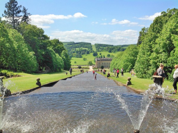 The magnificent Cascade at Chatsworth