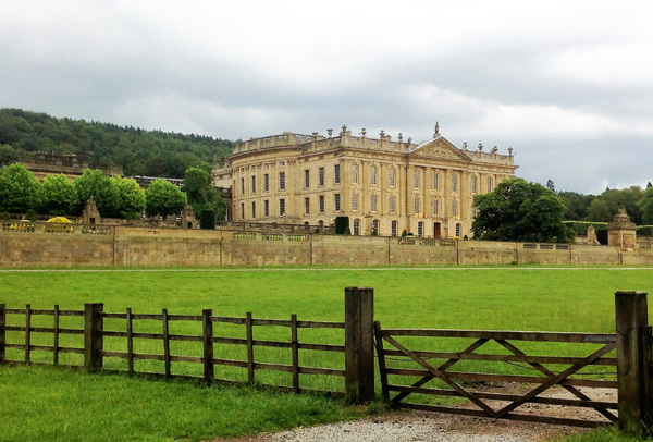 The magnificent Chatsworth House