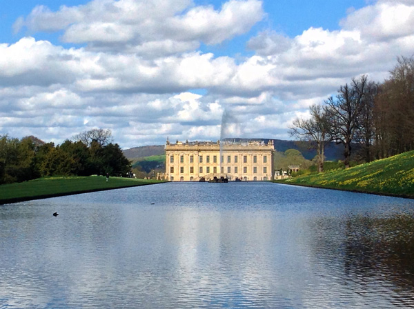 The stunning Chatsworth House