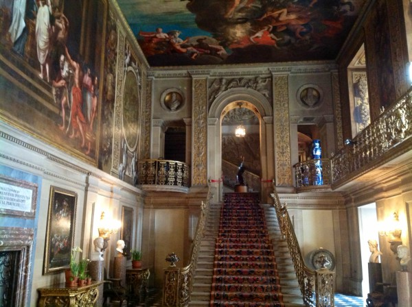 The beautiful Painted Hall
