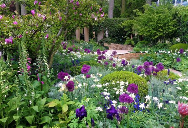 Stunning show gardens