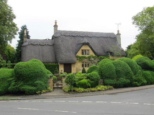 Typical cottages in Chipping Campden