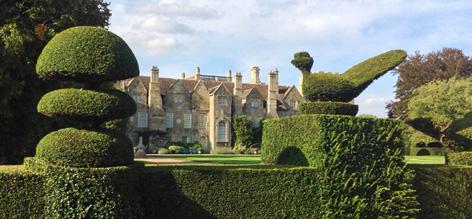 Grimsthorpe Castle gardens