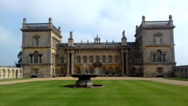 The historic Grimsthorpe Castle
