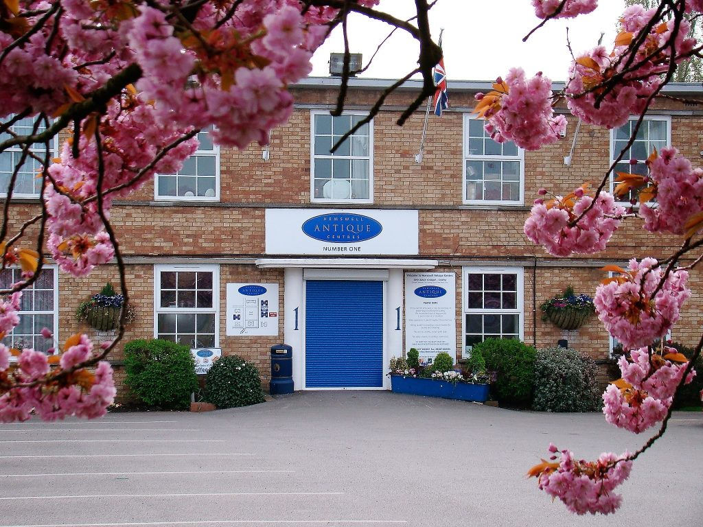 The vast Hemswell Antiques Centre