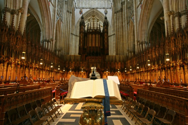 Explore inside the spectacular cathedral