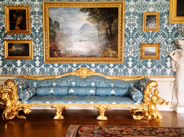 Beautiful interiors at Kedleston Hall