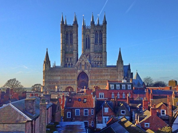 See the splendour of Lincoln Cathedral