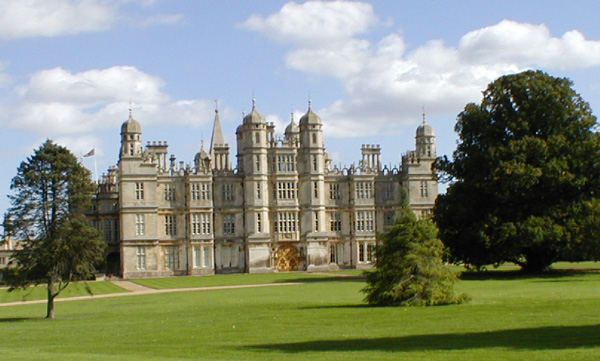 Beautiful Burghley House