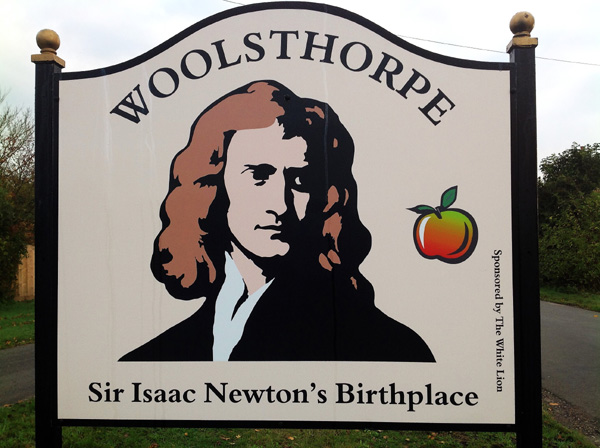 The birthplace of Sir Isaac Newton