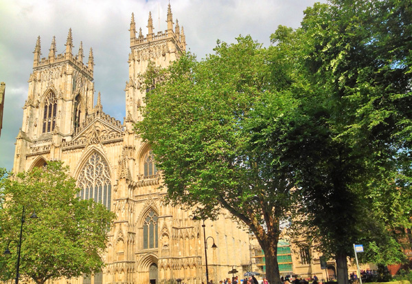 The spectacular York Minster
