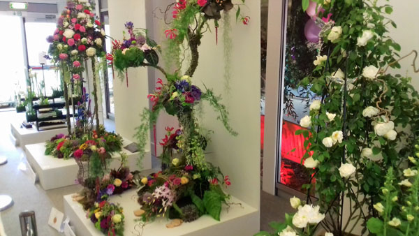 Stunning floral arrangements at Chelsea