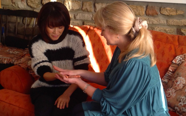 Learn how to give a relaxing hand massage