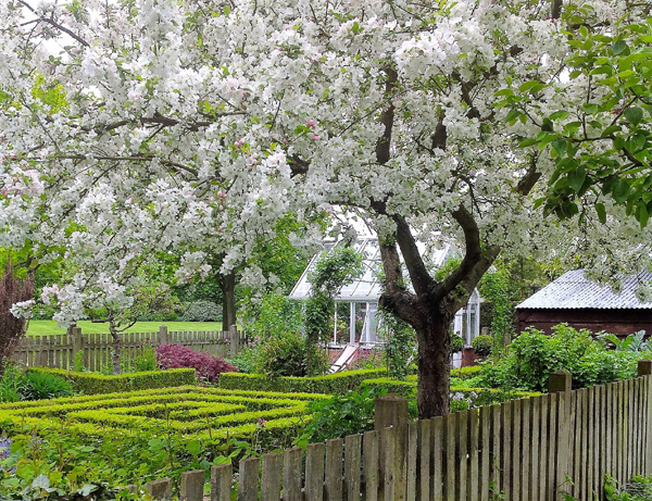 Barnsdale Gardens in the spring