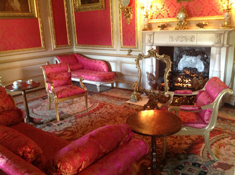 The beautiful inside of Belton House