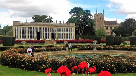 Belton House Italian garden