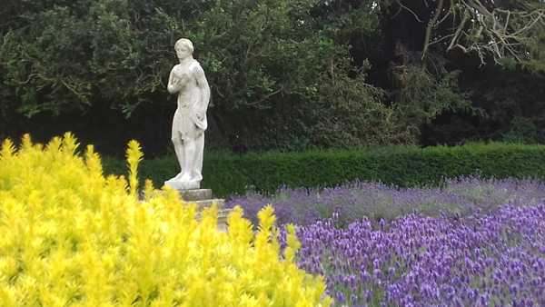 One of the gardens at Belton House