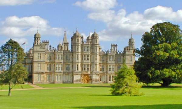 The stunning Burghley House