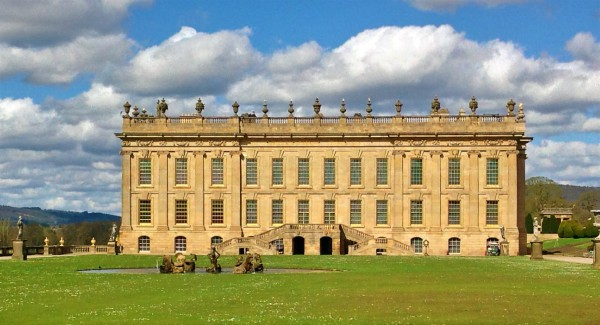 The majestic Chatsworth House and Garden