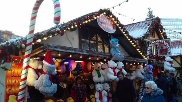 Visit the Christmas shops
