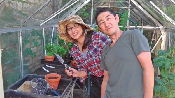 Happy Greenhouse Gardeners