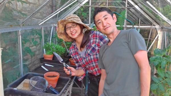 Happy Greenhouse Gardeners