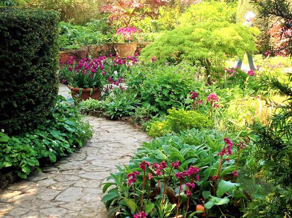 Spring at Hidcote Manor