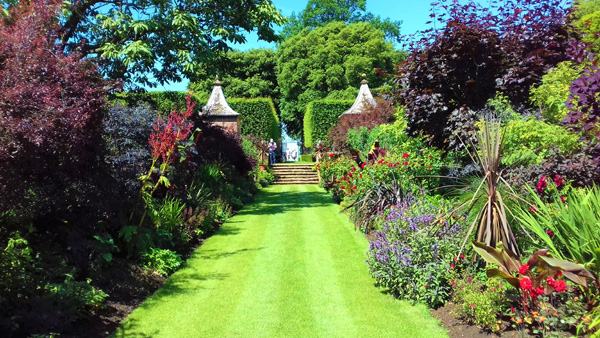 Visit the arts and crafts garden at Hidcote Manor