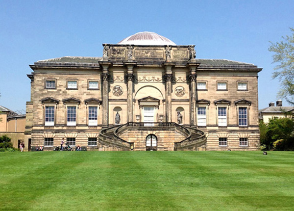 The impressive Kedleston Hall