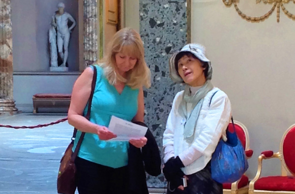 Learning all about Kedleston Hall