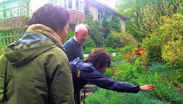Enjoy meeting garden owners