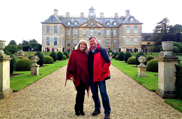 Russ & Patricia at Belton House