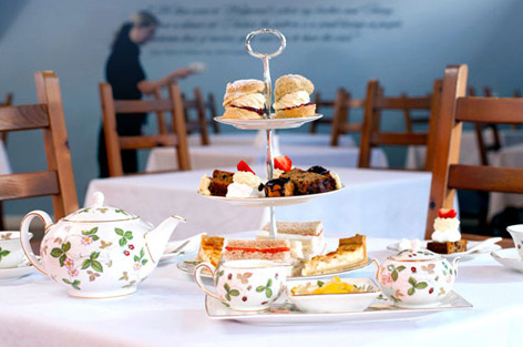 Afternoon tea at Wedgwood