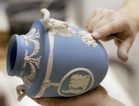 Traditional Wedgwood pot