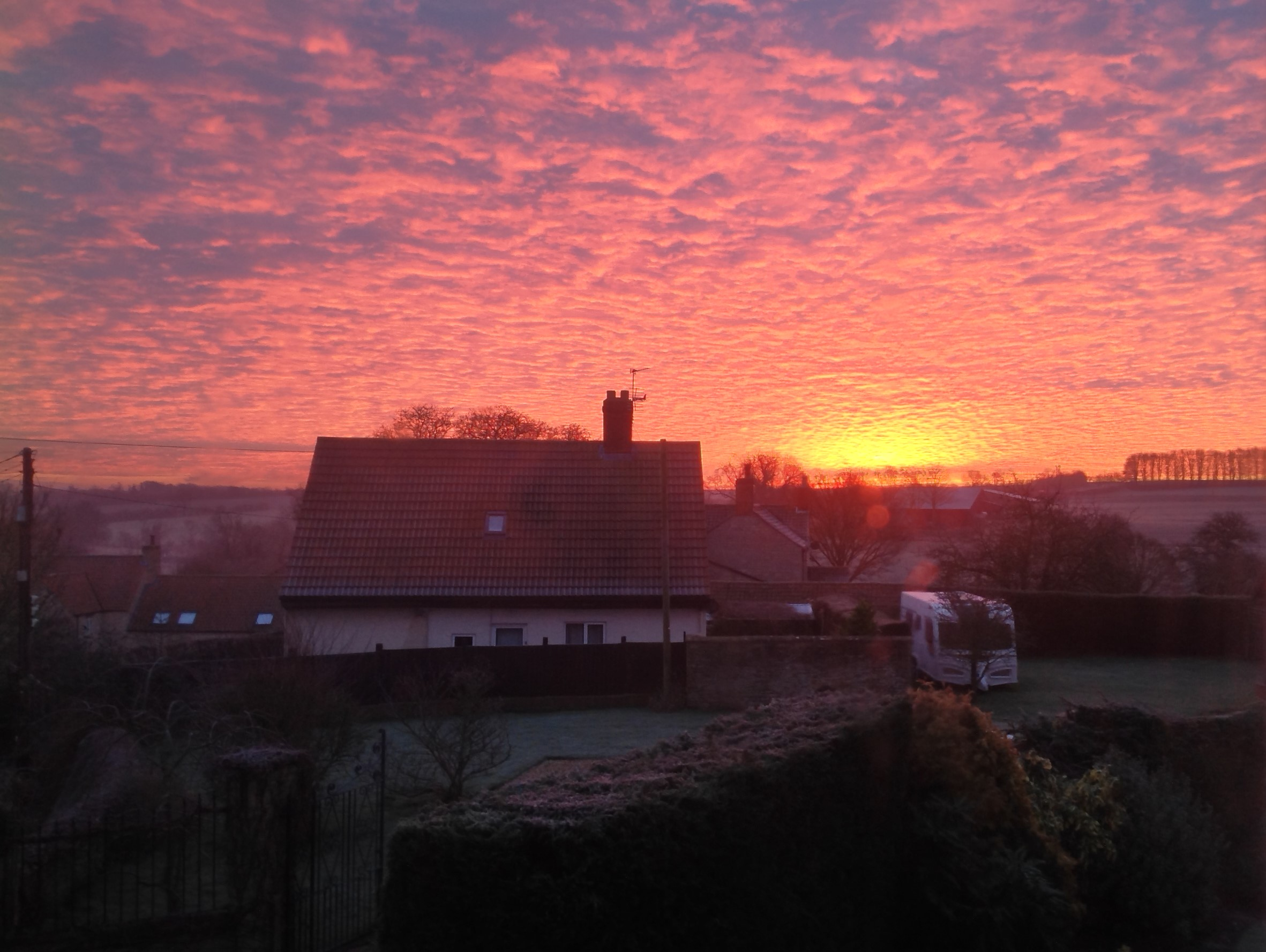 Beautiful Skillington Sunrise