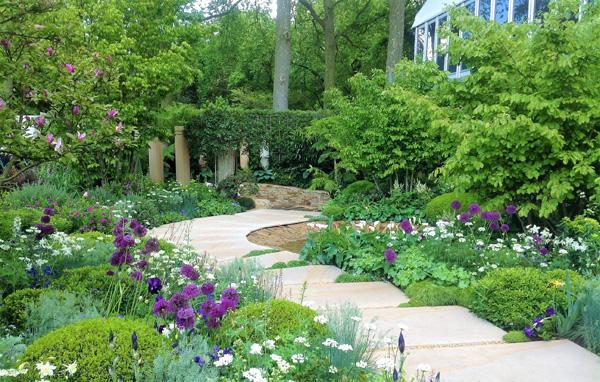 Beautiful show gardens