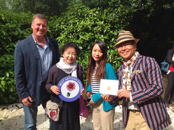 Ishihara san and his gold medal