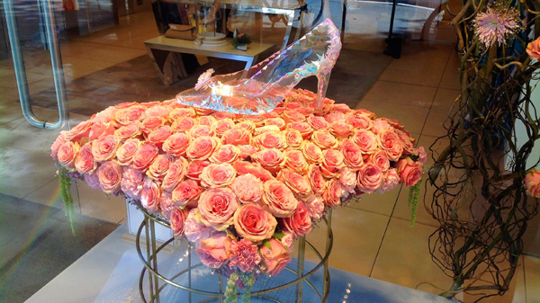 Shop floral displays